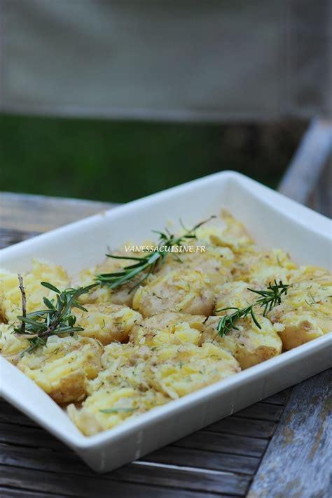 sarriette cuisine pommes de terre tapées à l 39 huile d 39 olive romarin et