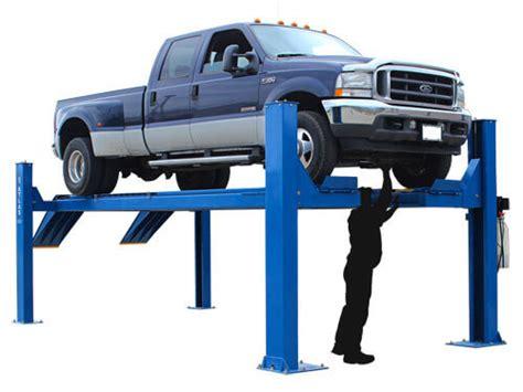 Open Front 4-post Alignment Lift, Atlas 14kof-ext Garage