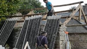 Renovation Toiture Fibro Ciment Amiante : atelier d 39 artiste partie 8 d samiantage de la toiture fibro ciment youtube ~ Nature-et-papiers.com Idées de Décoration