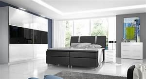 Komplett schlafzimmer hochglanz rivabox ii for Schlafzimmer komplett hochglanz