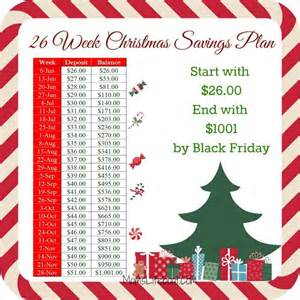25 best ideas about christmas savings plan on pinterest savings plan 26 week savings plan