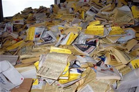 wednesday recycle  rid  phone books