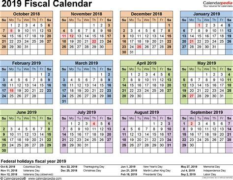 Fiscal Calendars 2019 As Free Printable Pdf Templates Time Table Pakistan Railway Karachi Of Star Plus Channel In Kashmir Mumbai To Pune Ranchi Varanasi Intercity Express Train Jodhpur Barmer Dhanbad Station Motogp Qatar Schedule Uk