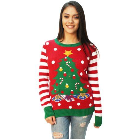 sweaters that light up sweater s tree led light up