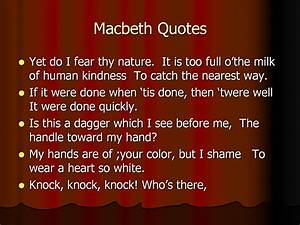 Macbeth Quotes ... Macbeth Banquo Ambition Quotes