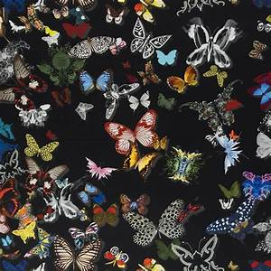 butterfly parade oscuro With balkon teppich mit christian lacroix tapete