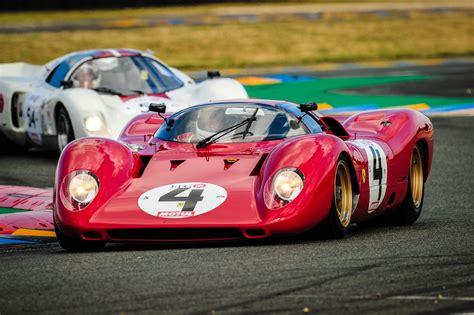 THE LE MANS FERRARIS AT CHANTILLY - Le Mans Classic 2018