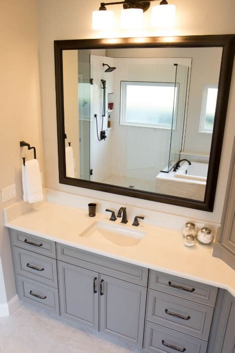 master bathroom  large vanity tower kbf design gallery