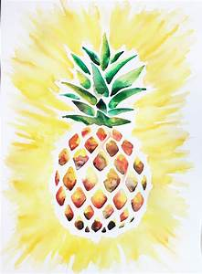 Watercolor / Pineapple | Artistry | Pinterest | Watercolor ...