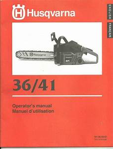 Husqvarna Model 61 Chainsaw Manual