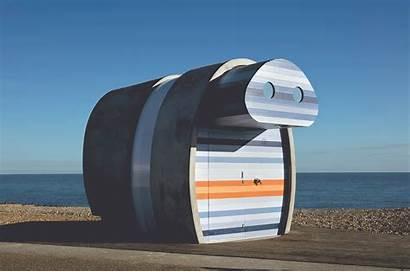 Beach Spy Glass Hut Jak Studio Eastbourne