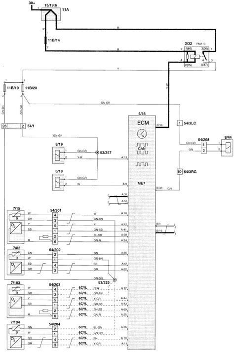 volvo v70 2000 wiring diagrams fuel controls