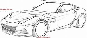 Ferrari SP Arya, trapela l'immagine del brevetto