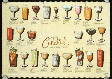 vintage cocktail index vintage cocktail placemats on pinterest vintage