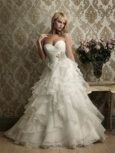 ruffles are great wedding dress trend aurora With ruffle wedding dress