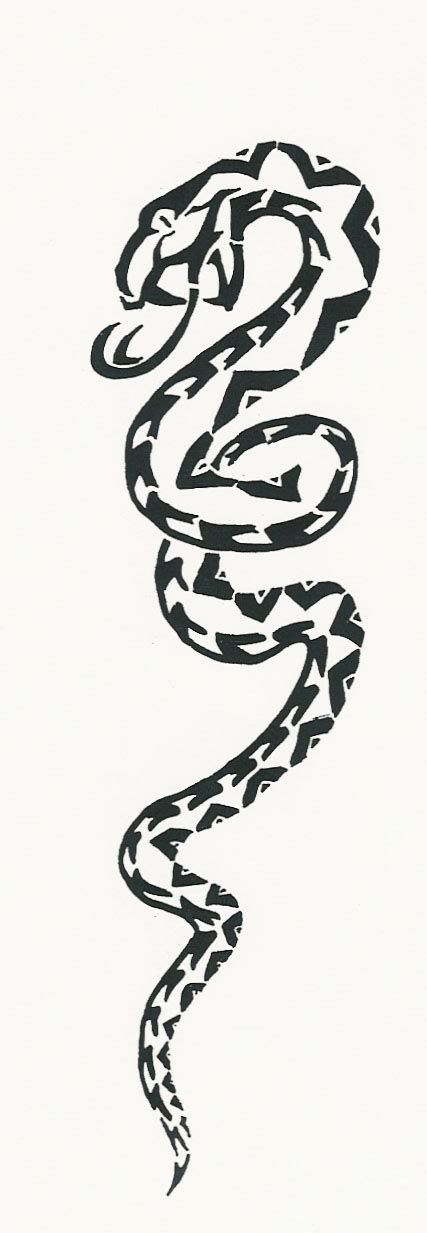 Snake Tribal By Midnite7175 On Deviantart