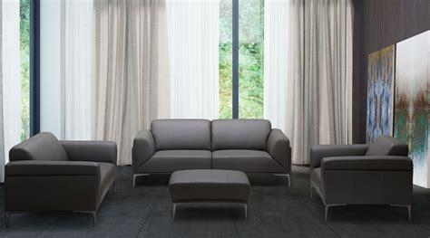 king gray leather living room set  jnm coleman furniture