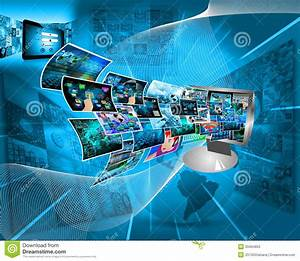 Computer Technology stock image. Image of channel ...