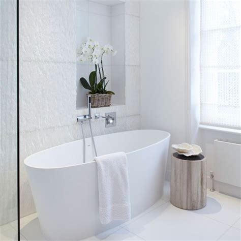 white tile bathroom 24 large white bathroom tiles ideas and pictures