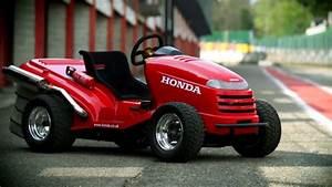 Tondeuse À Gazon Honda : fun a l 39 assaut du raidillon en tondeuse gazon vid o blog automobile ~ Melissatoandfro.com Idées de Décoration