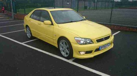 lexus yellow lexus 2003 is200 sport yellow px 4x4 car for sale