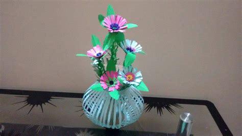 beautiful paper flower bouquetbasket paper
