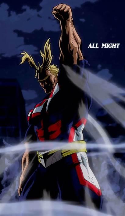 Might Wallpapers Hero Academia Anime Boku Turn