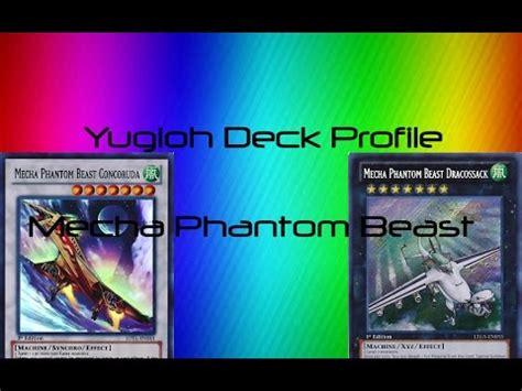 mecha phantom beast deck 2015 yugioh best mecha phantom beast deck profile