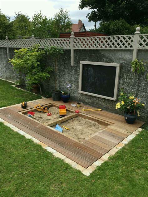 Sandkasten Im Garten by Sandkasten Im Garten Garten Garten Spielplatz