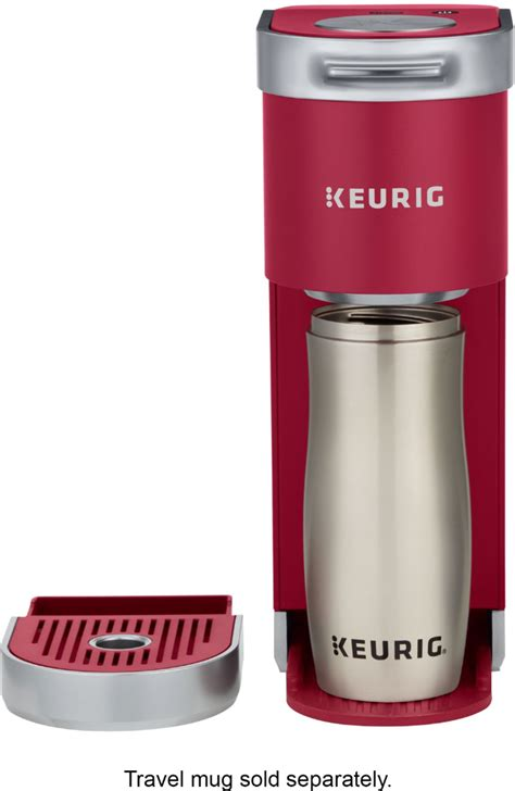 Boasting a compact design that is ideal for small spaces, this coffee maker is also portable. Keurig K-Mini Plus Single Serve K-Cup Pod Coffee Maker Cardinal Red 5000200240 - Best Buy