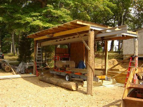 building  sawmill shed portable sawmills