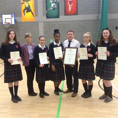 business students receive certificates  excellence
