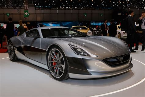 Rimac Concept_one Electric Supercar Debuts In Production