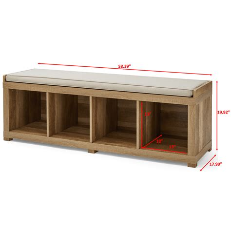 It was founded in 1922 by edwin meredith, who had previously been the u. Better Homes and Gardens 4-Cube Organizer Storage Bench ...