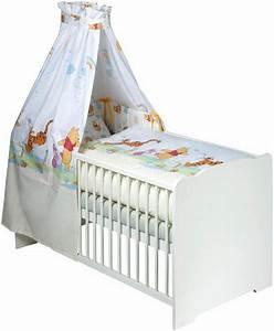 Baby Bettwäsche Günstig : disney baby 7 tlg komplettbett babybett matratze ~ A.2002-acura-tl-radio.info Haus und Dekorationen