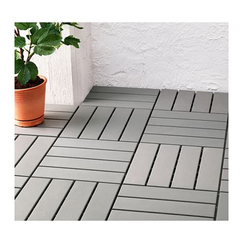 runnen floor decking outdoor grey ikea