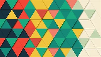 Pattern Triangle Geometric Background Wallpapers 4k Abstract