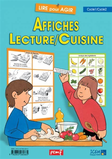 affiche atelier cuisine affiches lecture cuisine lire pour agir coop 39 icem