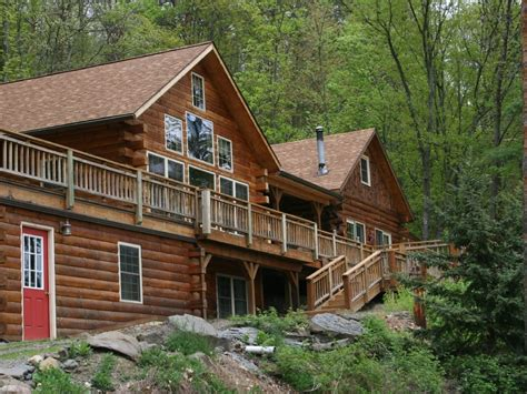 cabin in woods luxurious log cabin in woods on keuka homeaway
