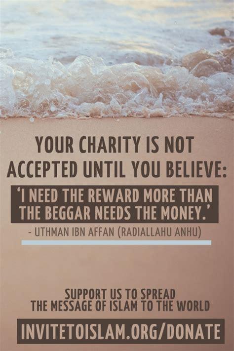 charity  islam quotes quotesgram