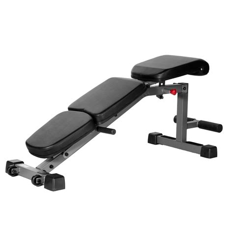 Adjustable Fid Flat Incline Decline Dumbbell Bench With