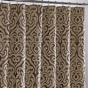 buy j new york luxembourg fabric shower curtain from bed bath beyond