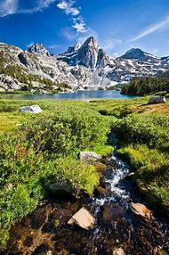 Rae Lakes Kings Canyon National Park California