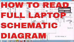 How To Read Laptop Schematic Diagram Step By Step Easy