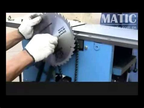 multi  woodworking machinery mq series jaya youtube