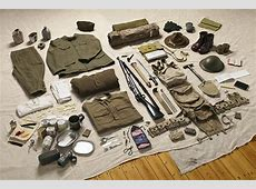 First World War soldiers' inventories photographed by Thom