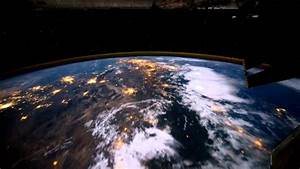 Time lapse night view from the International Space Station ...