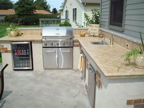 outdoor kitchen island with sink outdoor living kirk wylie masonry