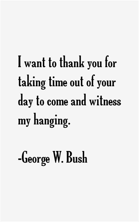 george w bush quotes sayings