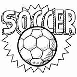 Soccer Coloring Ball Pages Sports Football Printable Sheets Kidspressmagazine Crafts Category Disney sketch template